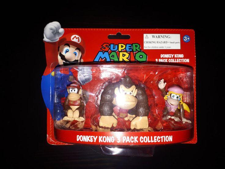 [NINTENDO] Super Mario - Pack de 3 figurines Donkey Kong