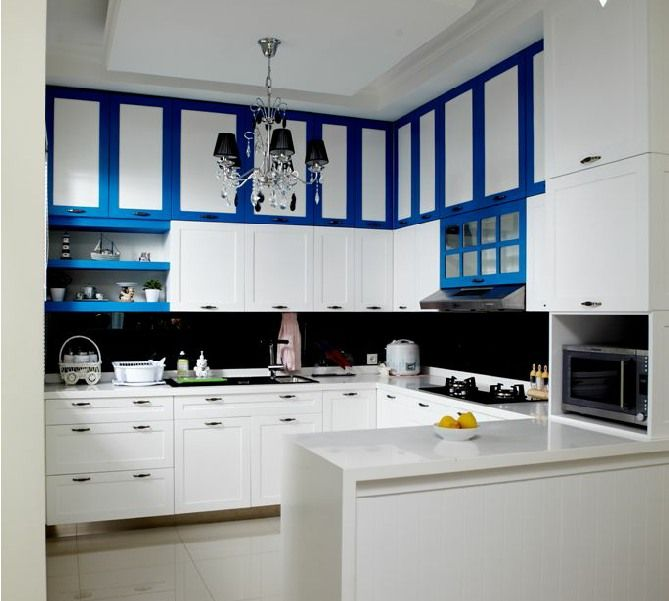 Funiture yang bakal anda aplikasikan dengan ruang dapur for Small kitchen cabinet set