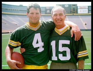 Starr and Favre