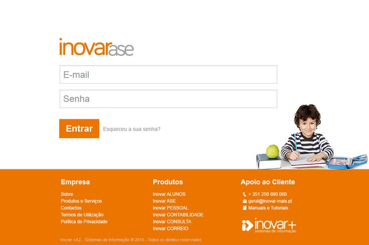 INOVAR ASE: Ação Social Escolar Escolas privadas e públicas, profissionais e externatos