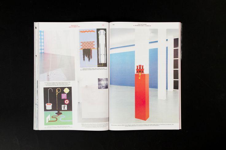 Mousse Magazine 55 ~ #kasperbosmans #moussemagazine #contemporaryart #art #magazine