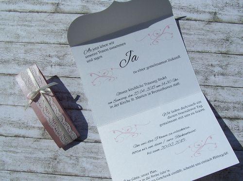 Einladung Zur Hochzeit Www.kartenmanufaktur Arndt.de