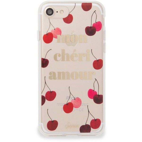 Sonix Mon Cheri iPhone 7 Case ($35) ❤ liked on Polyvore featuring men's fashion, men's accessories, men's tech accessories and neutral