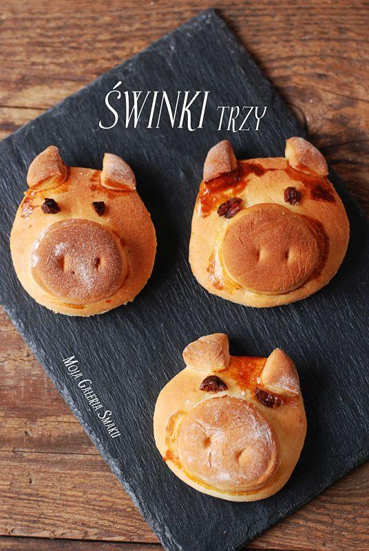 Drożdżowe świnki