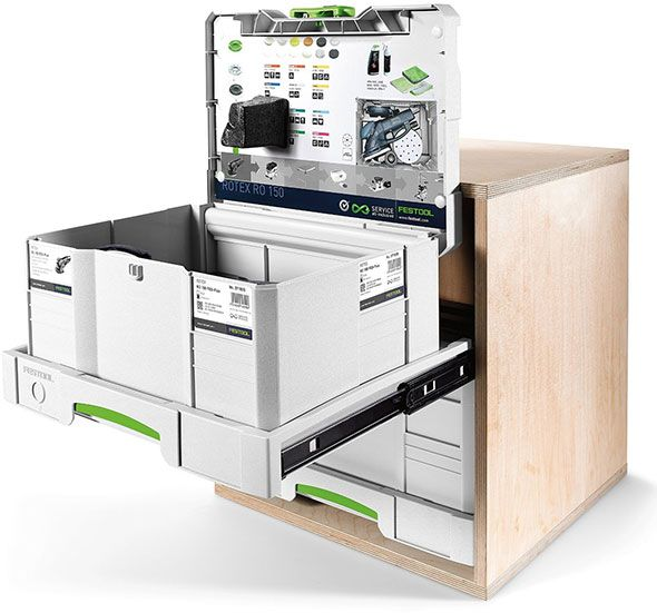 Festool Sys-AZ Systainer Drawer Extended
