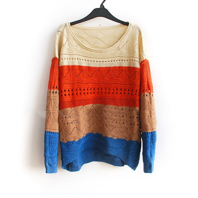 Match this sweater with some dark skinny jeans and boots and you're ready for a chilly game!