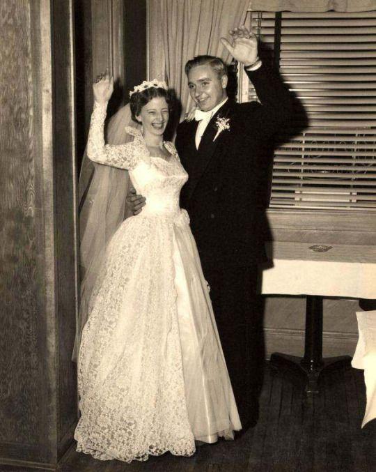 1950s newlyweds
