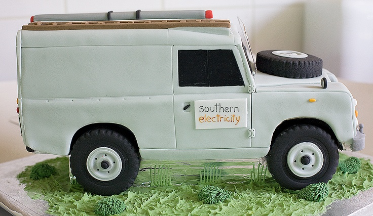 Land-Rover cake