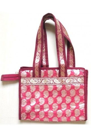 Ethnic Bag - Paithani – Kuiri Printed