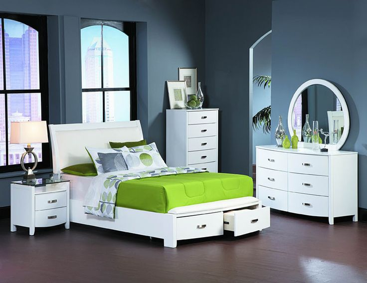 Homelegance 1737KW-1CK Lyric Collection Color Glossy White