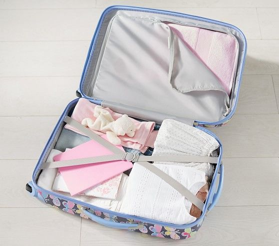 Mackenzie Glitter Ballerina Hard Sided Luggage #pbkids