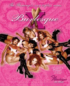 The X Burlesque Las Vegas Show (@ the flamingo) first vegas show, awesome dancers!!!