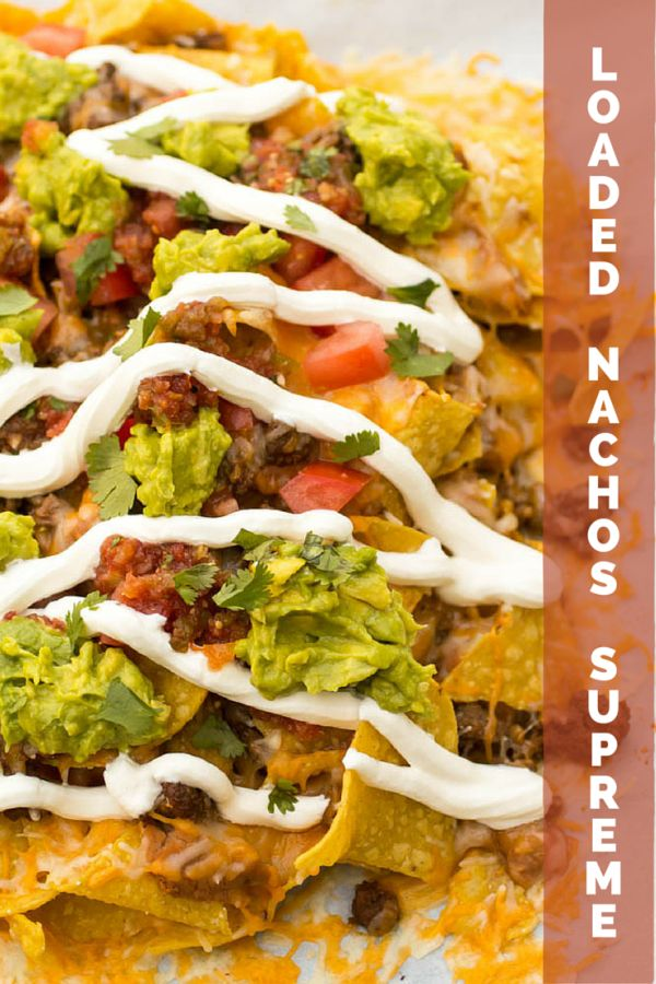 Loaded Nachos Supreme » Or Whatever You Do
