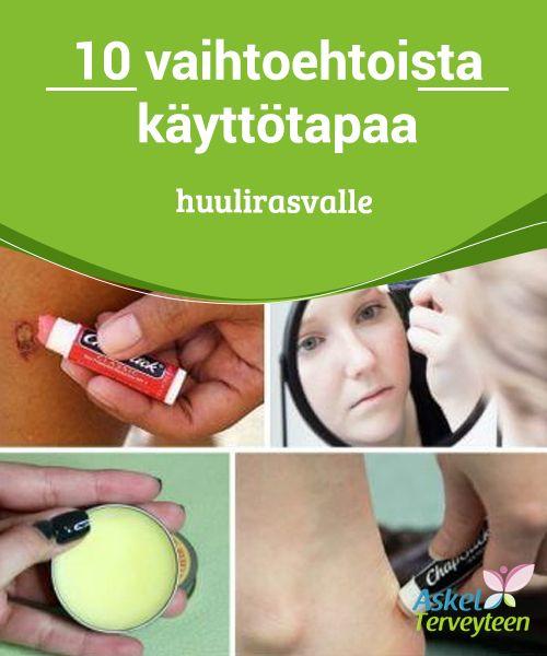 10 vaihtoehtoista käyttötapaa huulirasvalle  Huulirasva on suosittu #kosmeettinen tuote, jota käytetään yleensä huulten #kosteuttamiseen ja huulten herkän ihon #suojaamiseen kuivumiselta.  #Mielenkiintoistatietoa