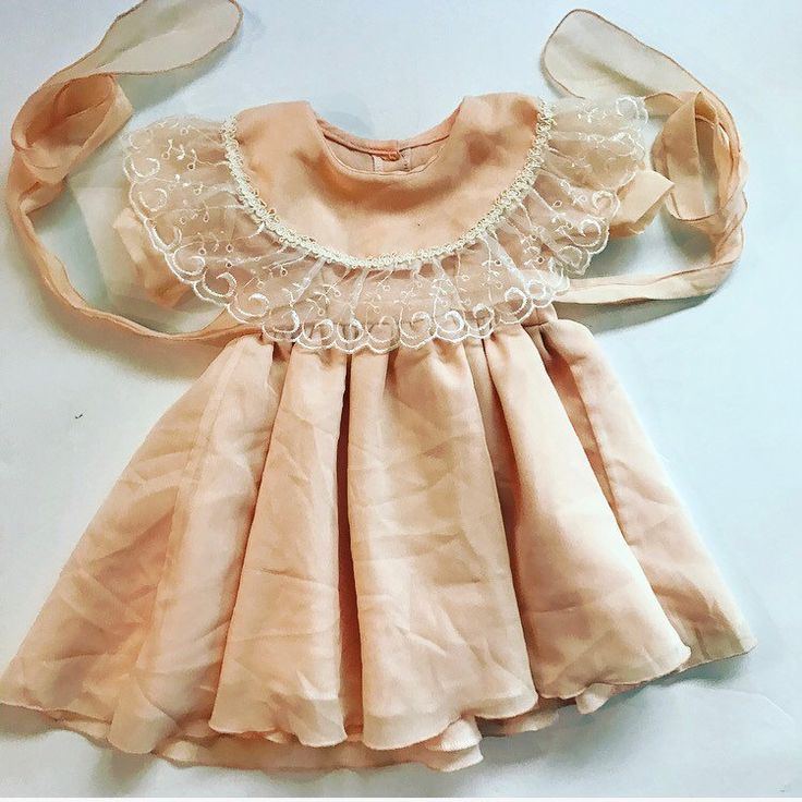 Just added this Peach Dream to the Etsy shop! Sleeves are sheer! Head over and scoop this peach up for your little!!free shipping