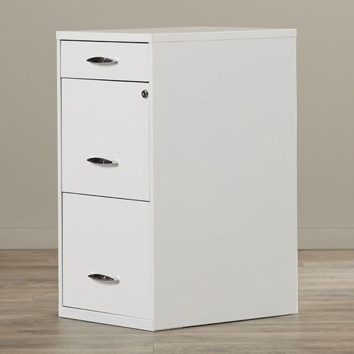 Found it at AllModern - Steel 3 Drawer Filing Cabinet
