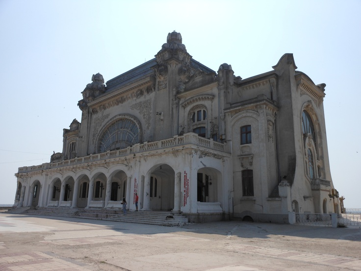 abandoned Casino in Constanta, Romania. It's been empty since the Communist era (built in 1905)