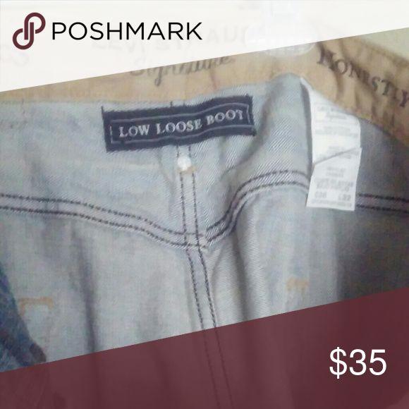 Levis Strauss Signature Mens Jeans Levis Strauss Signature Mens Jeans  Low Loose Boot 36x32 Levis Strauss Jeans Bootcut #mensjeanslevis