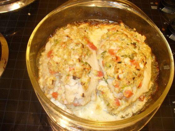 Crab Stuffed Fish Fillets Recipe - Food.com