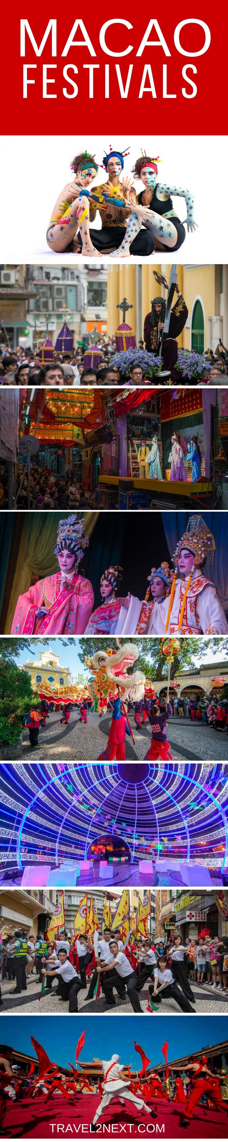 Macao festivals and events. You know that a city deserves to be called a city of festivals when there's at least one festival a month.