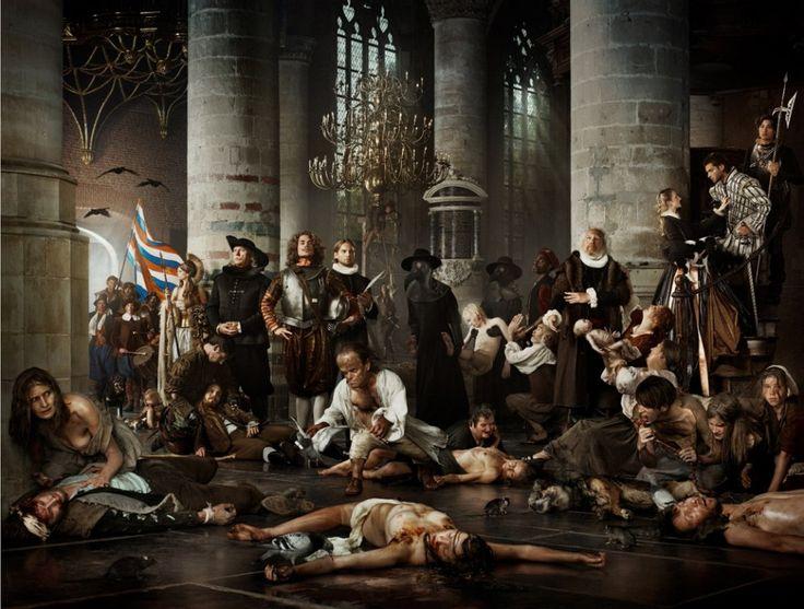 'old dutch masters' Leidens ontzet- Erwin Olaf