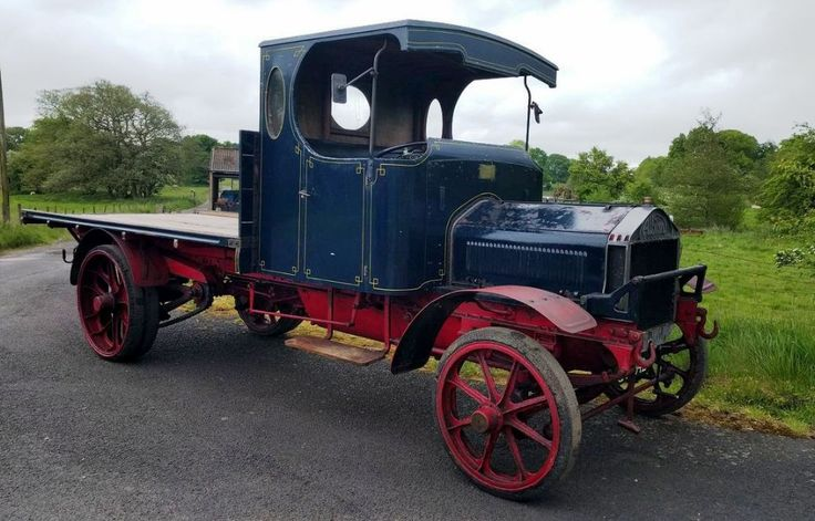 1915 Albion A10 Flatbed