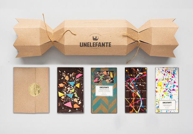 Chocolates artesanais Unelefante x Chef Jorge Llanderal.