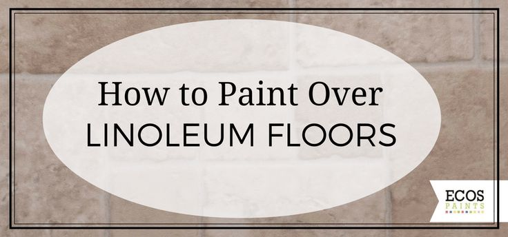 1000 ideas about linoleum flooring on pinterest vinyl for Can you paint over vinyl flooring