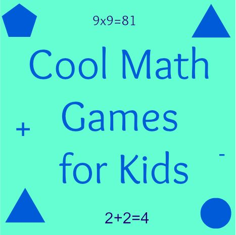 Get your kids excited about working with numbers with these cool math games for kids! Playing online games can help them feel more confident in class!