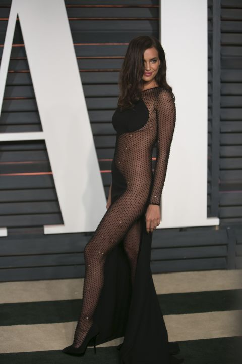 See Irina Shayk's naked dress and 21 other celebs who dared to try the look.