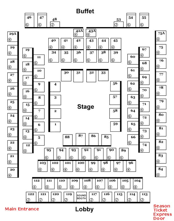 Derby dinner playhouse seating chart brokeasshome com