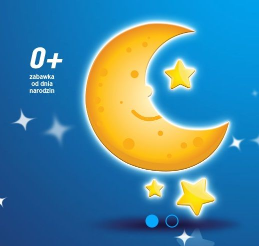 Lampka Wesoły Księżyc