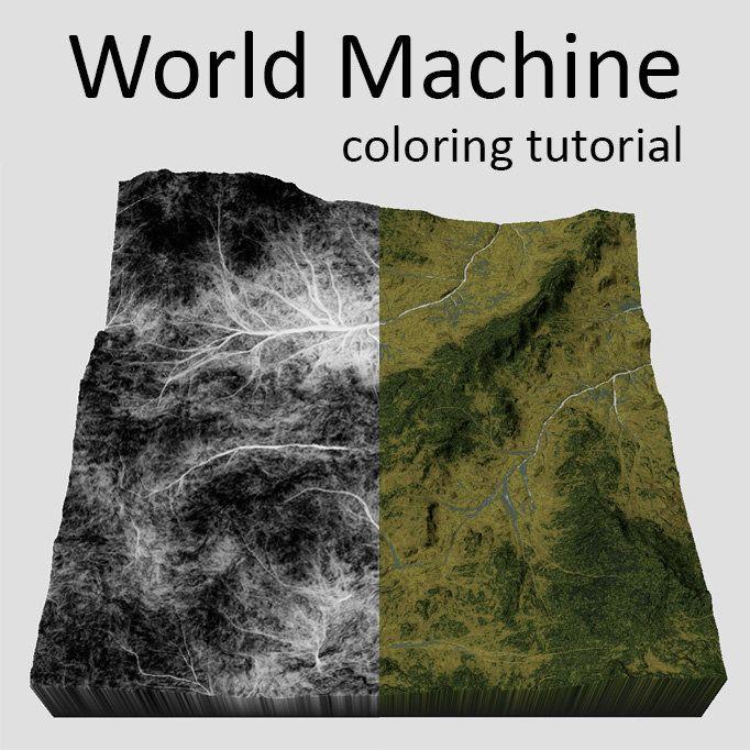 World Machine - Texturing tutorial, Iri Shinsoj on ArtStation at https://www.artstation.com/artwork/world-machine-texturing-tutorial