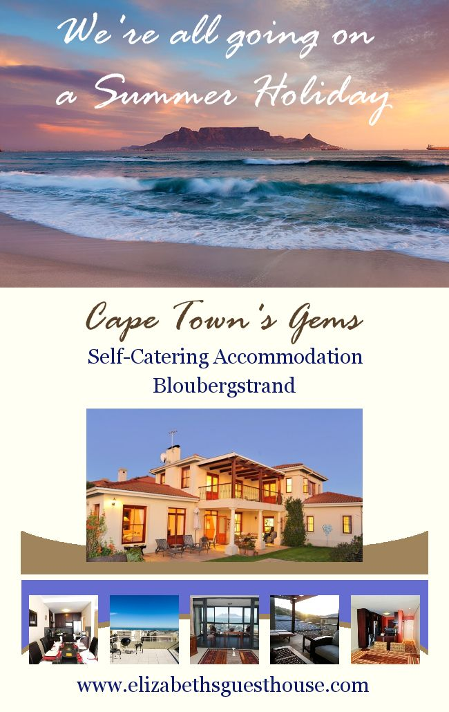 Contact us elizabethsgh@telkomsa.net for the best deals on #Selfcatering Accommodation in #Bloubergstrand, Cape Town.