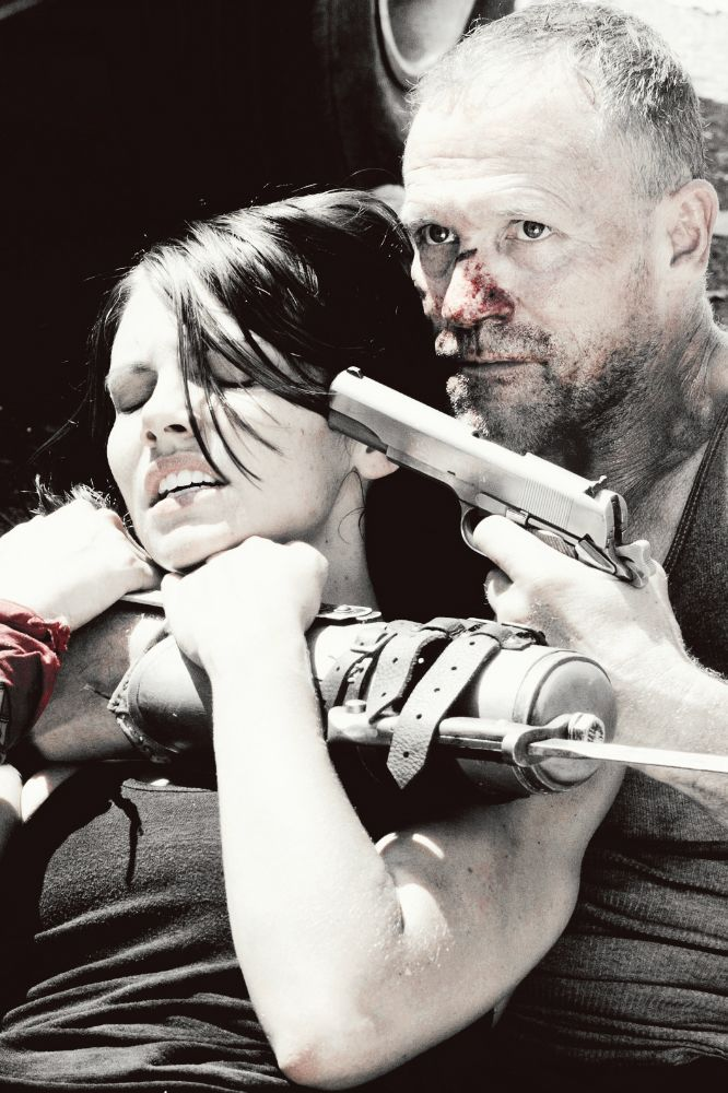 Merle Dixon.  He just couldn't help himself...