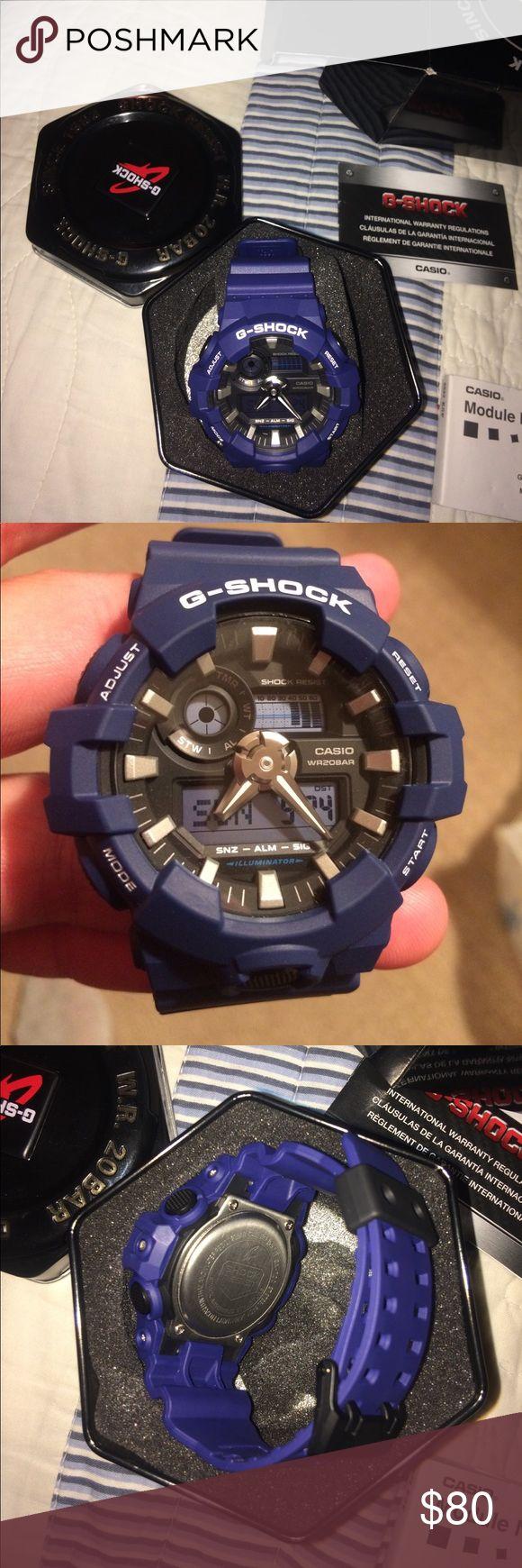 G-Shock watch G-shock Casio. Brand new, in box never worn. Blue. G-Shock Accessories Watches