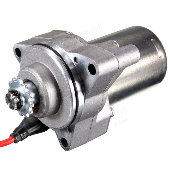 50cc 70cc 90cc 110cc st01 motore motorino di avviamento elettrico di montaggio atv Vendita - Banggood.com
