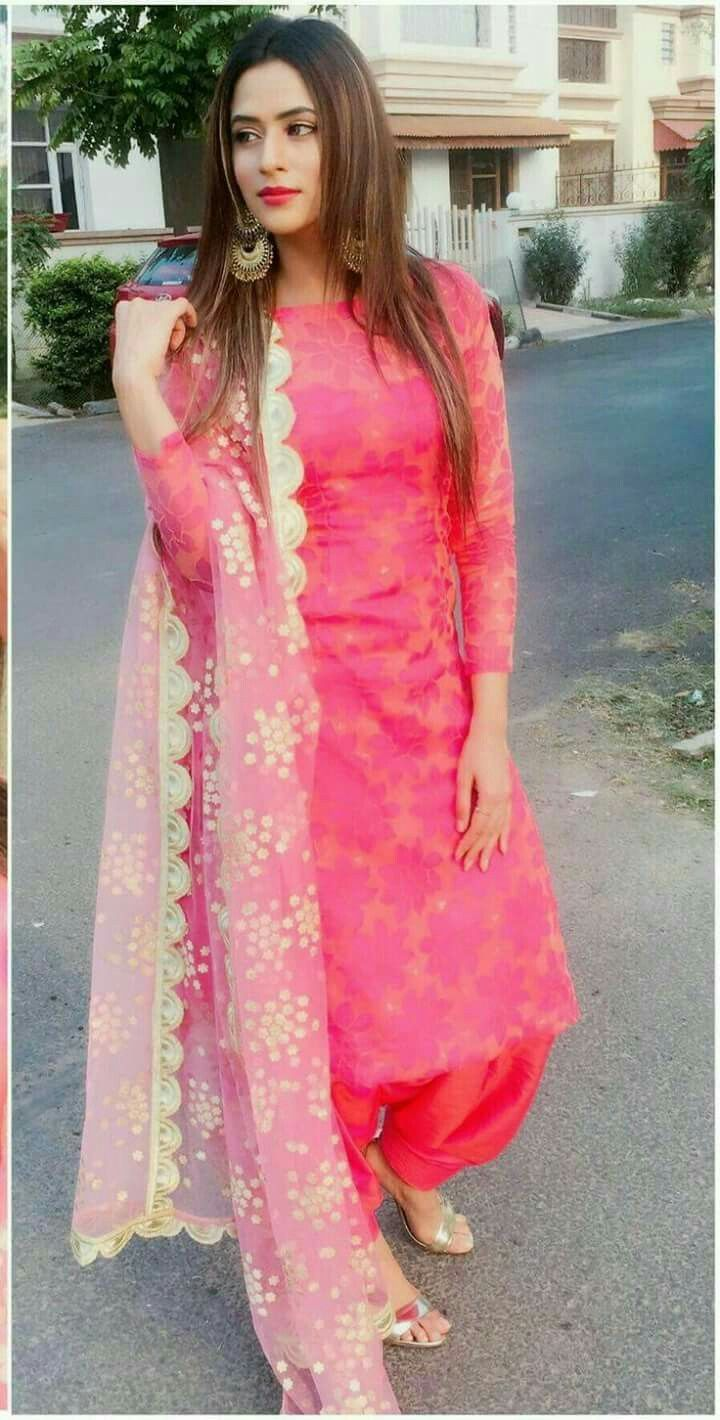 Image Result For Punjabi Suit Neck Design With Laces In -6233