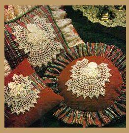 Angel Pillows - free pattern
