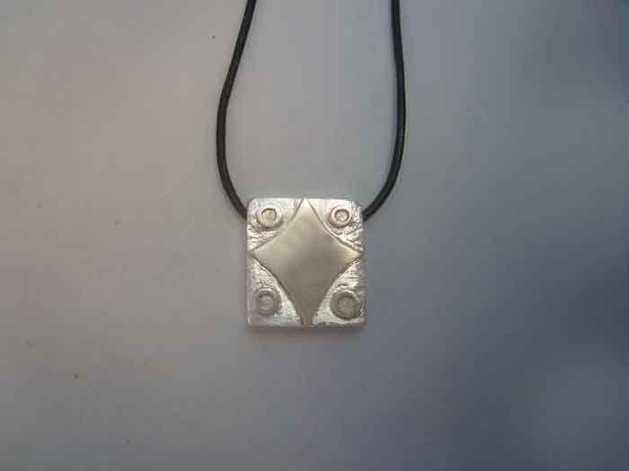 mayan seal kin star lamat sterling silver 925 pendant necklace zodiac charm colgante sello zodiaco maya estrella de plata de ley by Algaba on Etsy