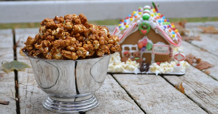 This Gingersnap Popcorn is just in time for the Holiday Season! Grab your friends and family and enjoy a weekend of decorating gingerbread houses and munching on this delicious popcorn! Ingredients - 6 cups popped popcorn - 1/2 cup butter - 3/4 cup brown sugar - 1/4 cup molasses - 1/2 tsp. ginger - 1/2 tsp. cinnamon - 1/2 tsp. cloves - 1/4 tsp. salt - 3/4 tsp. vanilla - 1/2 tsp. baking soda Preparation - Preheat over to 250° - Prepare...