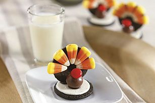 This easy to assemble OREO Turkey will make you look like you were up all night assembling this clever little treat.