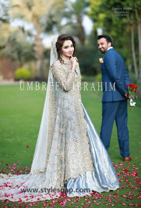 Nikkah Day Bridal Wedding Dresses Designs 2016-17 Collection | StylesGap.com
