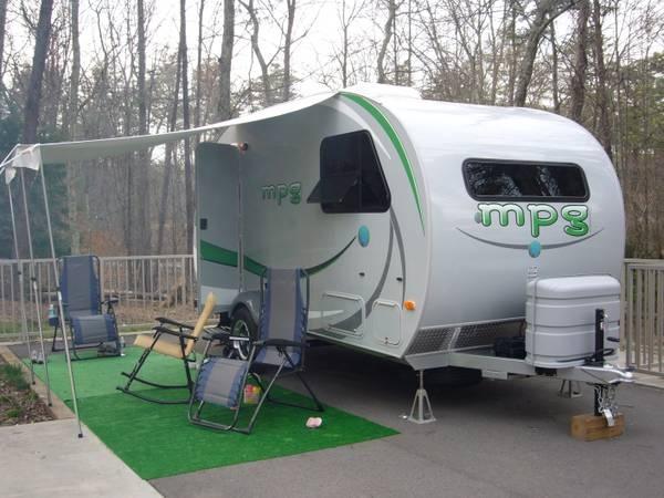 2011 Camper Rv Travel Trailer Heartland Mpg Not Rpod Rv