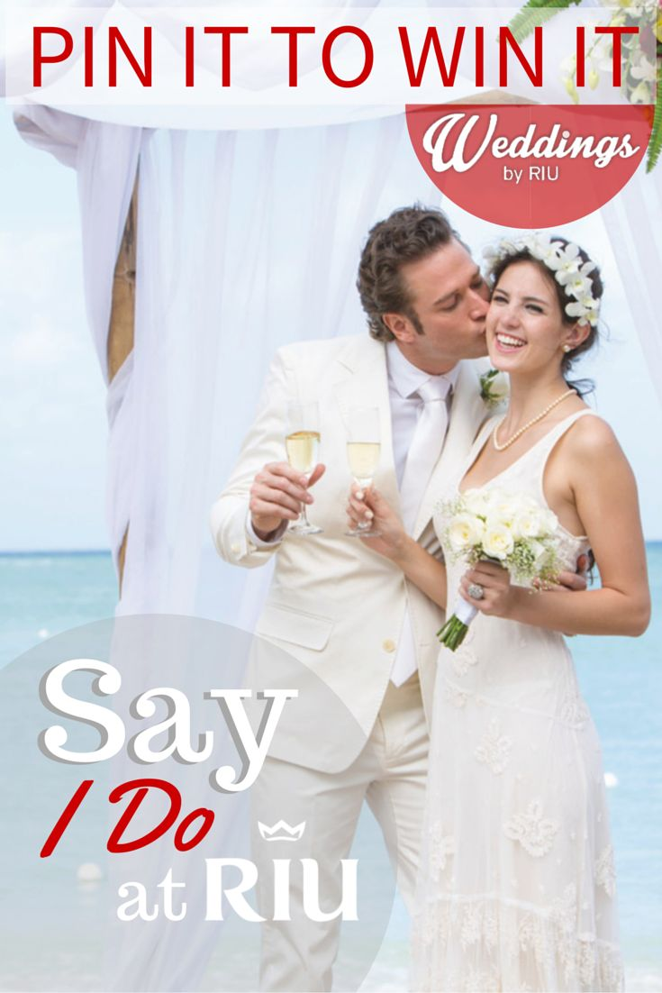 Pin it to Win it! - RIU makes your dream Wedding come true, join our giveaway and celebrate the most important day of your life at Riu Palace St Martin. (Click the image for more details)