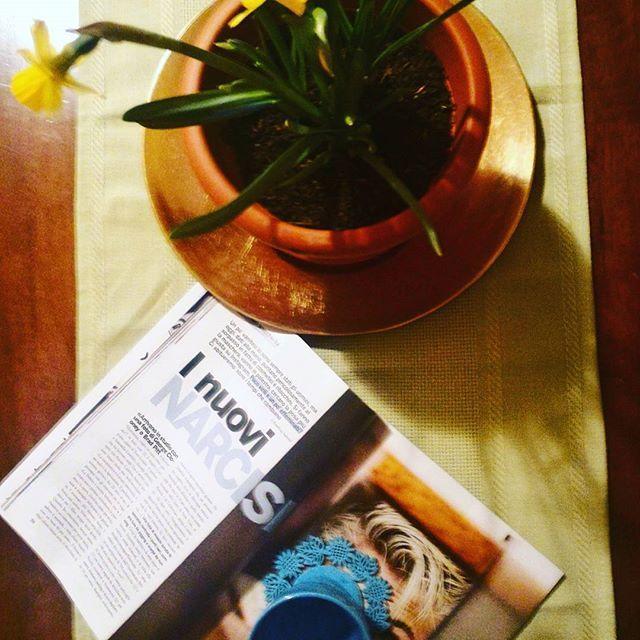 dialogo con un #narciso #gusciduovo  #gioiamagazine