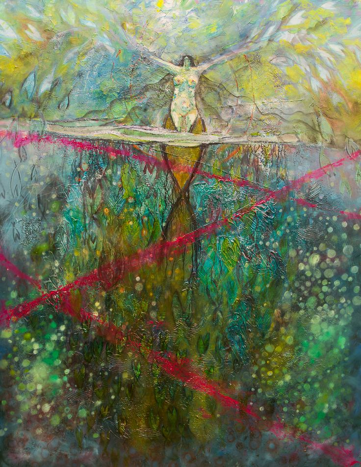 'Ascension' 48″x60″ oil on canvas 2012 $8000 Original Limited prints available www.DeserePressey.com