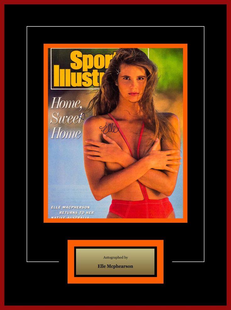 Elle MacPherson - Signed Photo - Framed Model Series