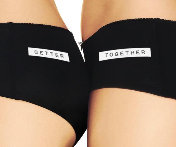 'better together' :..