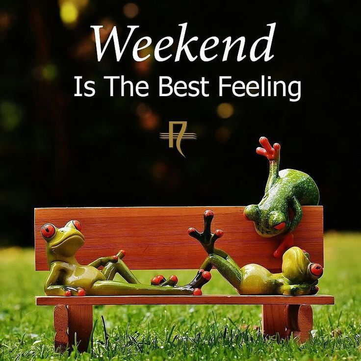 Have a great & relaxing weekend! #Weekend #Relax